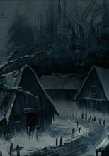 Якутия. Брошенная деревня