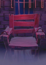 Старое кресло